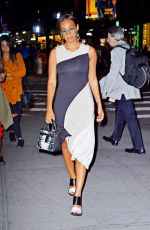 SOLANGE KNOWLES Night Out in Manhattan 04/20/2016