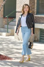 SOPHIA BUSH Out and About in Chicago 04/27/2016