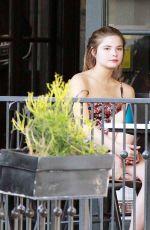 STEFANIE SCOTT at Alfred Coffee in West Hollywood 04/05/2016