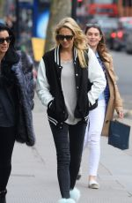 STEPHANIE PRATT Out at Kings Road in Chelsea 04/03/2016