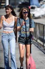 SUKI WATERHOUSE at Paddle Boarding Session in Marina Del Ray 04/06/2016