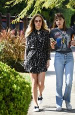 SUKI WATERHOUSE at Zinque Restaurant in West Hollywood 04/01/2016