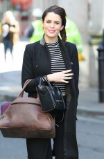 SUSIE AMY Leaves Whiteleys Shopping Centre in London 04/28/2016