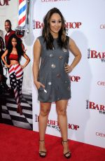 TAMERA MOWRY at 'Barbershop the Next Cut' Premiere in Hollywood 04/06/2016