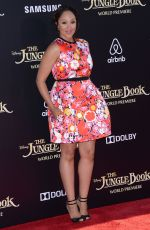 TAMERA MOWRY at 'The Jungle Book' Premiere in Hollywood 04/04/2016