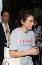 "TATIANA MASLANY at ""Late Show with Stephen Colbert"
