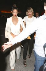 TAYLOR SWIFT and LILY ALDRIDGE Arrives at Her 35th Birthday Party Nice Guy in Hollywood 04/13/2016