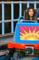 TAYLOR SWIFT and LILY ALDRIDGE at Disneyland in Anaheim 04/01/2016
