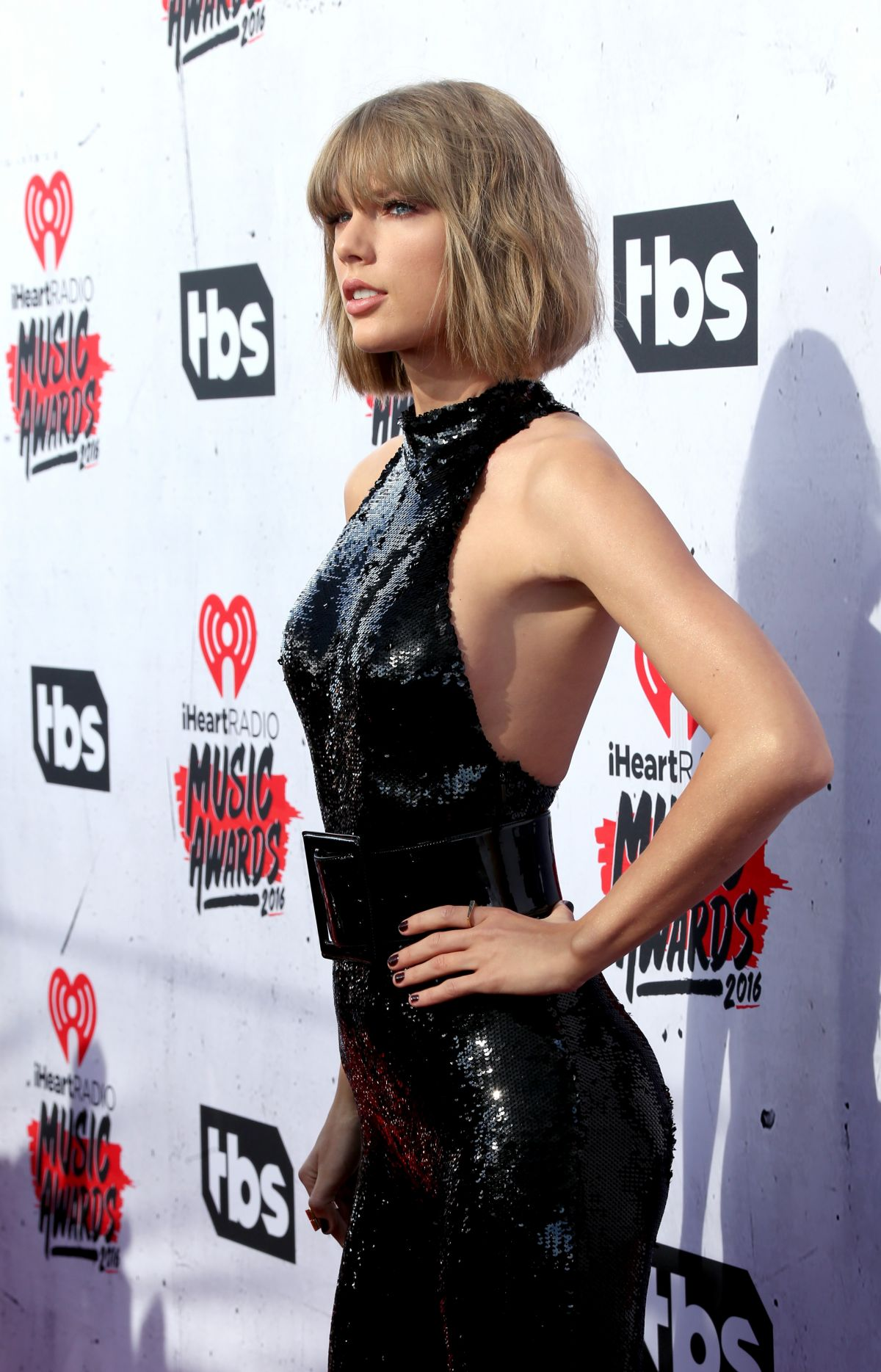 TAYLOR SWIFT at iHeartRadio Music Awards in Los Angeles 04/03/2016