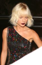 TAYLOR SWIFT at Il Piccolino Restaurant in West Hollywood 04/28/2016
