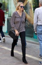 TERESA PALMER Out at The Grove in Los Angeles 04/10/2016