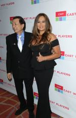 TIA CARRERE at 50th Anniversary Visionary Awards Dinner Universal City 04/25/2016