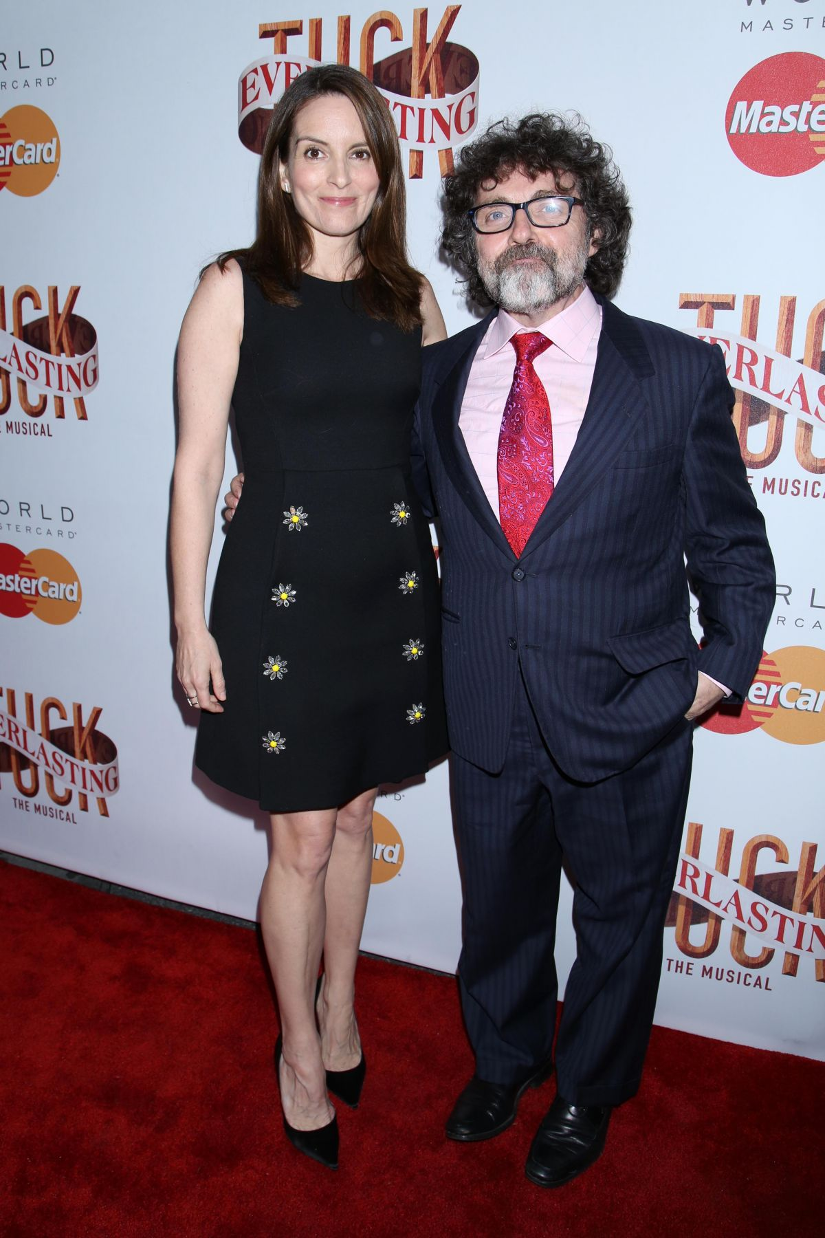 TINA FEY at Opening Night of Tuck Everlasting in New York 04/26/2016