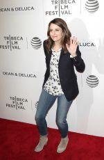 TINA FEY at Tribeca Talks Storytellers at bmcc in New York 04/19/2016