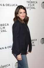TINA FEY at Tribeca Talks Storytellers at bmcc in New York 04/19/2016
