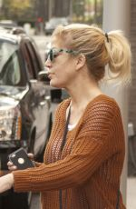TORI SPELLING Out and About in Beverly Hills 03/29/2016