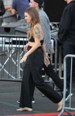 TOVE LO Arrives at Jimmy Kimmel Live in Los Angeles 04/28/2016