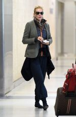 UMA THURMAN at JFK Airport in New York 04/28/2016