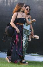 VANESSA and STELLA HUDGENS at Coachella Valley Music and Arts Festival in Indio 04/15/2016