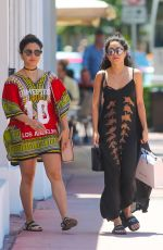 VANESSA and STELLA HUDGENS Out Shopping in Miami 04/09/2016