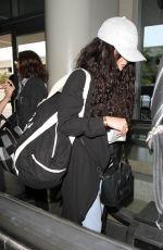 VANESSA HUDGENS at Los Angeles International Airport 04/07/2016