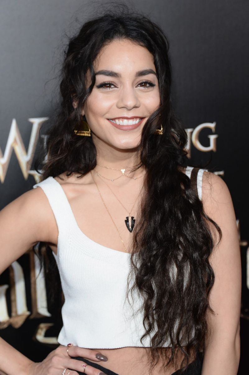 VANESSA HUDGENS at 'Wizarding World of Harry Potter ... Vanessa Hudgens