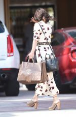 VANESSA HUDGENS Out Shopping in Los Angeles 04/13/2016