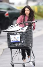 VANESSA HUDGENS Out Sopping in Los Angeles 04/10/2016
