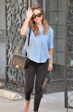 VANESSA MINNILLO Leaves Melrose Salon in West Hollywood