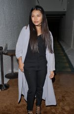 VANESSA WHITE Leaves a Restaurant Launch Party in London 04/27/2016