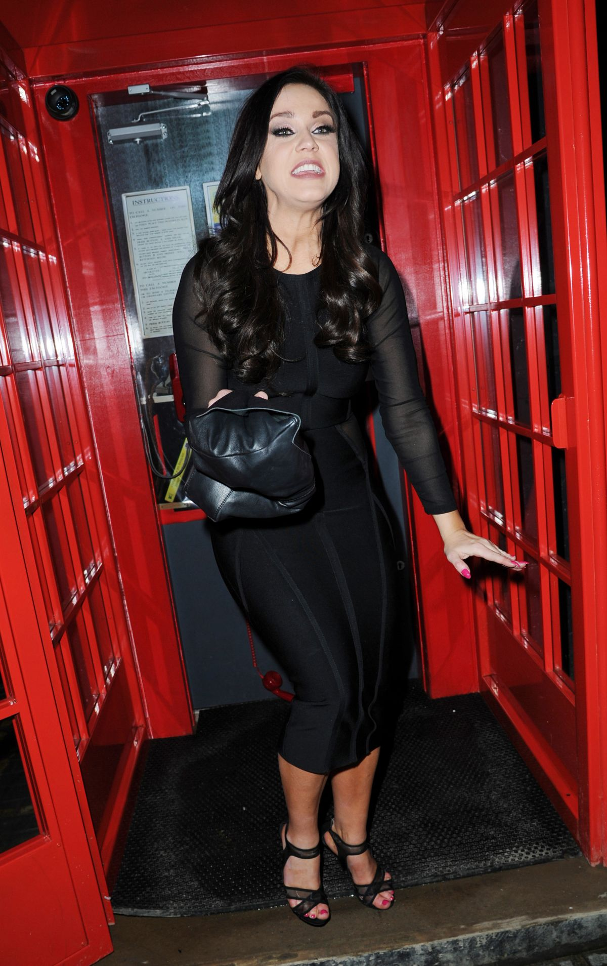 VICKY PATTISON Night Out in Liverpool 04/02/2016