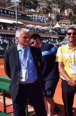 VICTORIA SILVSTEDT at Monte-Carlo Rolex Masters of Tennis in Monaco 04/16/2016