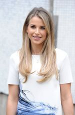 VOGUE WILLIAMS Leaves ITV Studios in London 04/18/2016