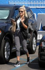 WITNEY CARSON at DWTS Rehersal in Hollywood 03/30/2016