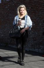 WITNEY CARSON at DWTS Rehersal in Hollywood 04/24/2016