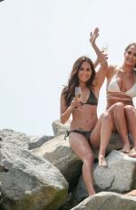 WWE - Bikini Beach Photoshoot in Malibu 04/13/2016