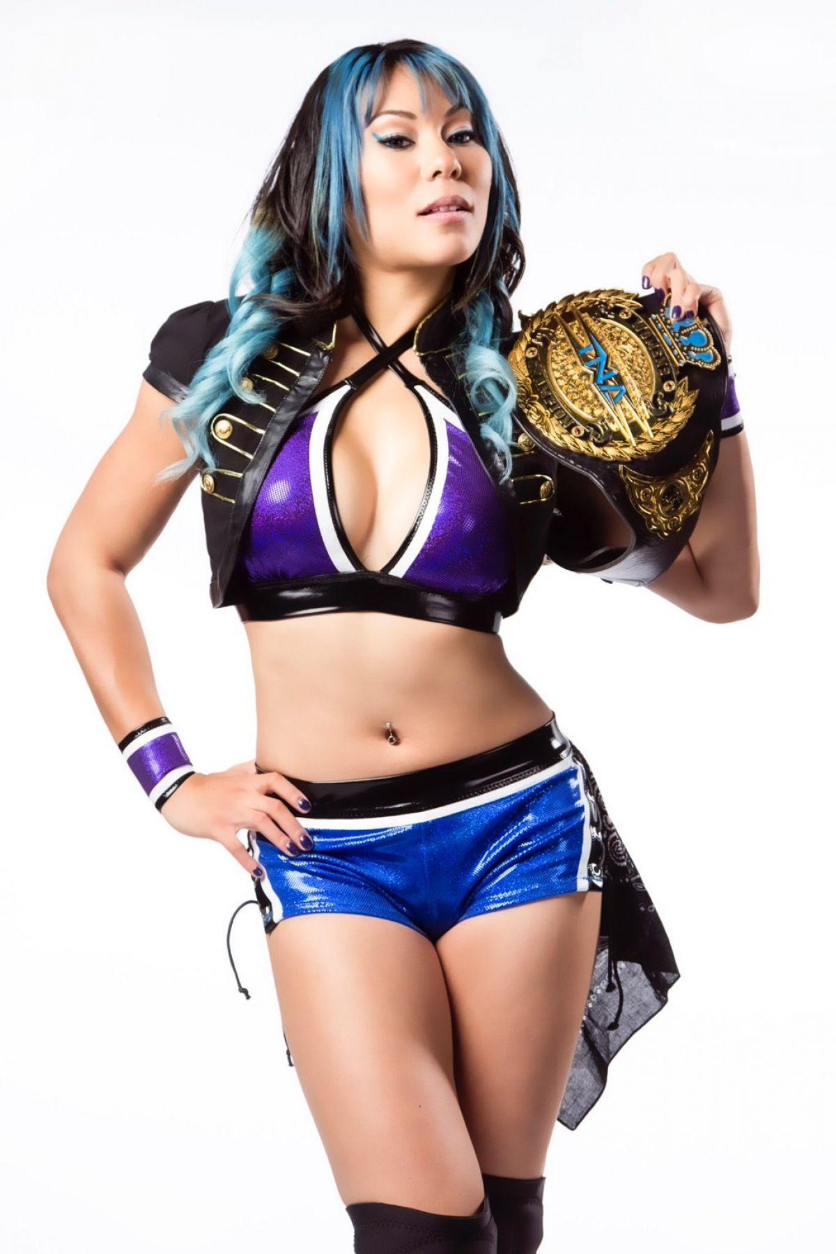 WWE - Jade Knockouts Champion Photoshoot
