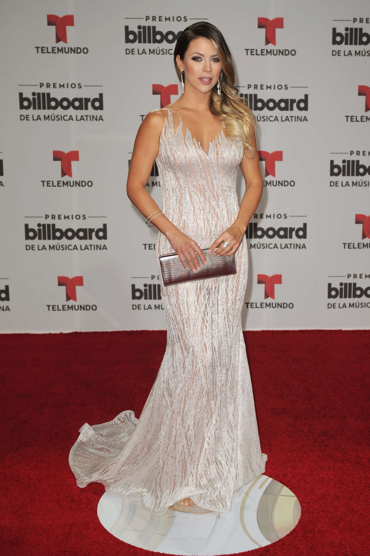 XIMENA DUQUE at Billboard Latin Music Awards in Miami 04/28/2016