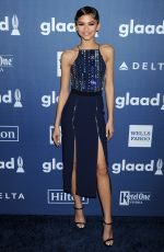 ZENDAYA COLEMAN at 2016 Glaad Media Awards in Beverly Hills 04/02/2016