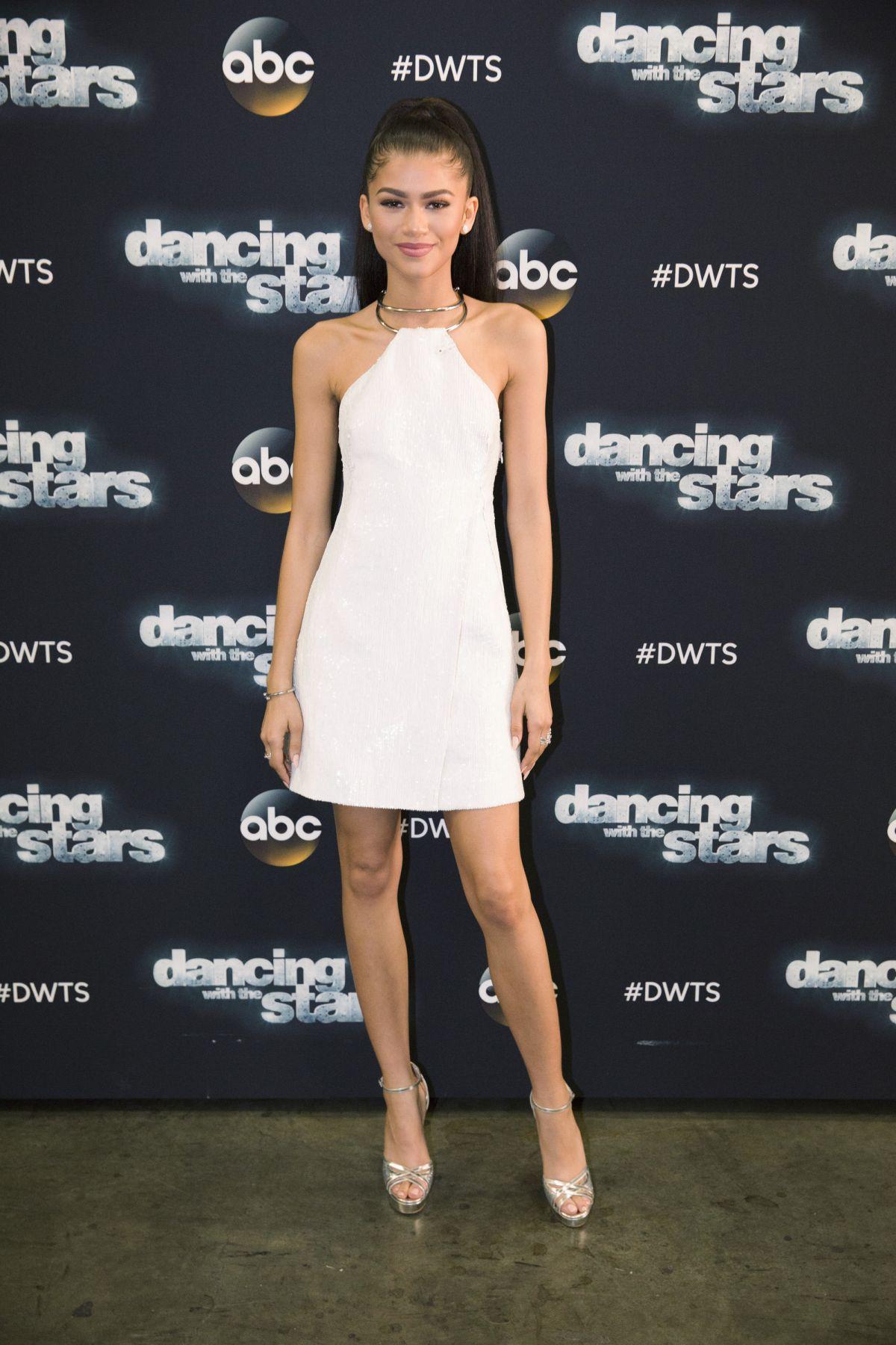 ZENDAYA COLEMAN at DWTS Season 22 in Los Angeles 04/11/2016