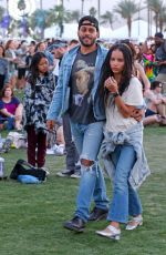 ZOE KRAVITZ at Coachella Valley Music and Arts Festival in Indio 04/15/2016