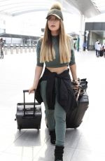 ABIGAIL CLARKE at Gatwick Airport in London 05/12/2016