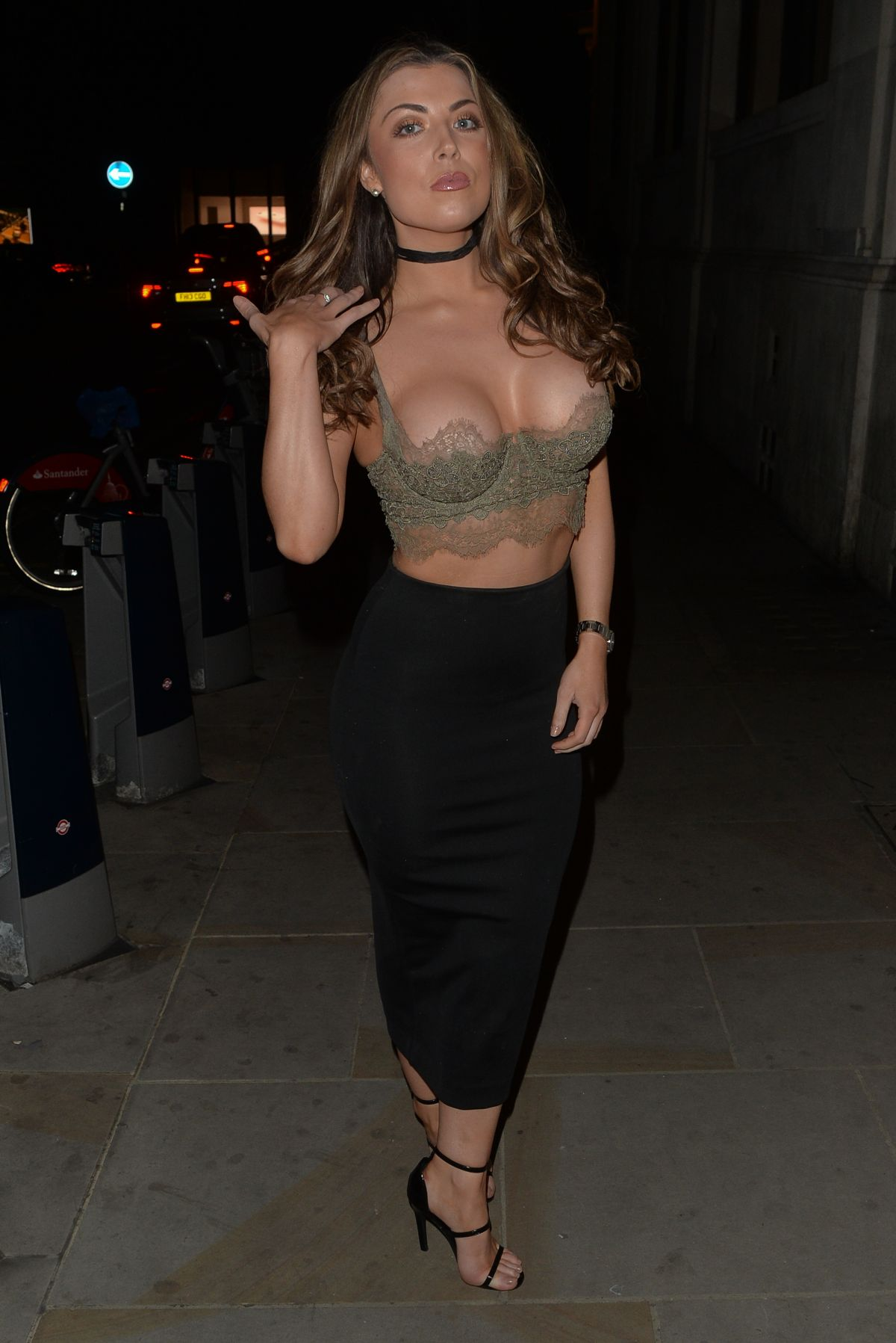 ABIGAIL CLARKE at Mason Nightclub in London 04/23/2016
