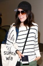 ABIGAIL SPENCER at LAX Airport in Los Angeles 05/01/2016
