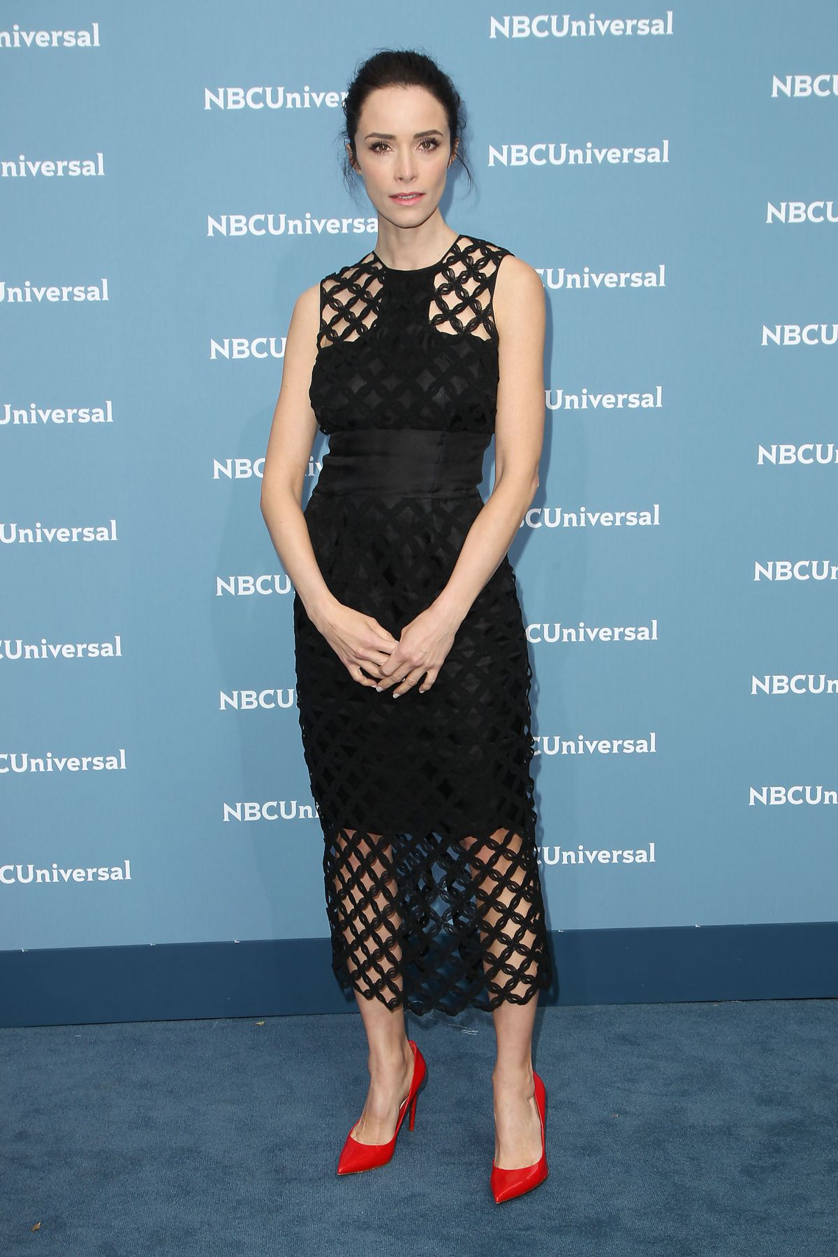 ABIGAIL SPENCER at NBC/Universal Upfront Presentation in New York 05/16/2016