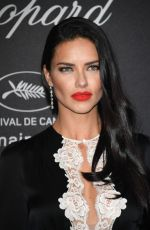 ADRIANA LIMA at Chopard Wild Party in Cannes 05/16/2016