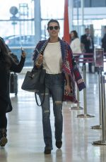 ALESSANDRA AMBROSIO at Airport in Madrid 04/29/2016