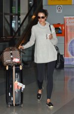 ALESSANDRA AMBROSIO at JFK Airport in New York 05/01/2016