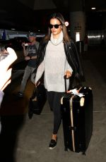 ALESSANDRA AMBROSIO at LAX Airport in Los Angeles 05/03/2016