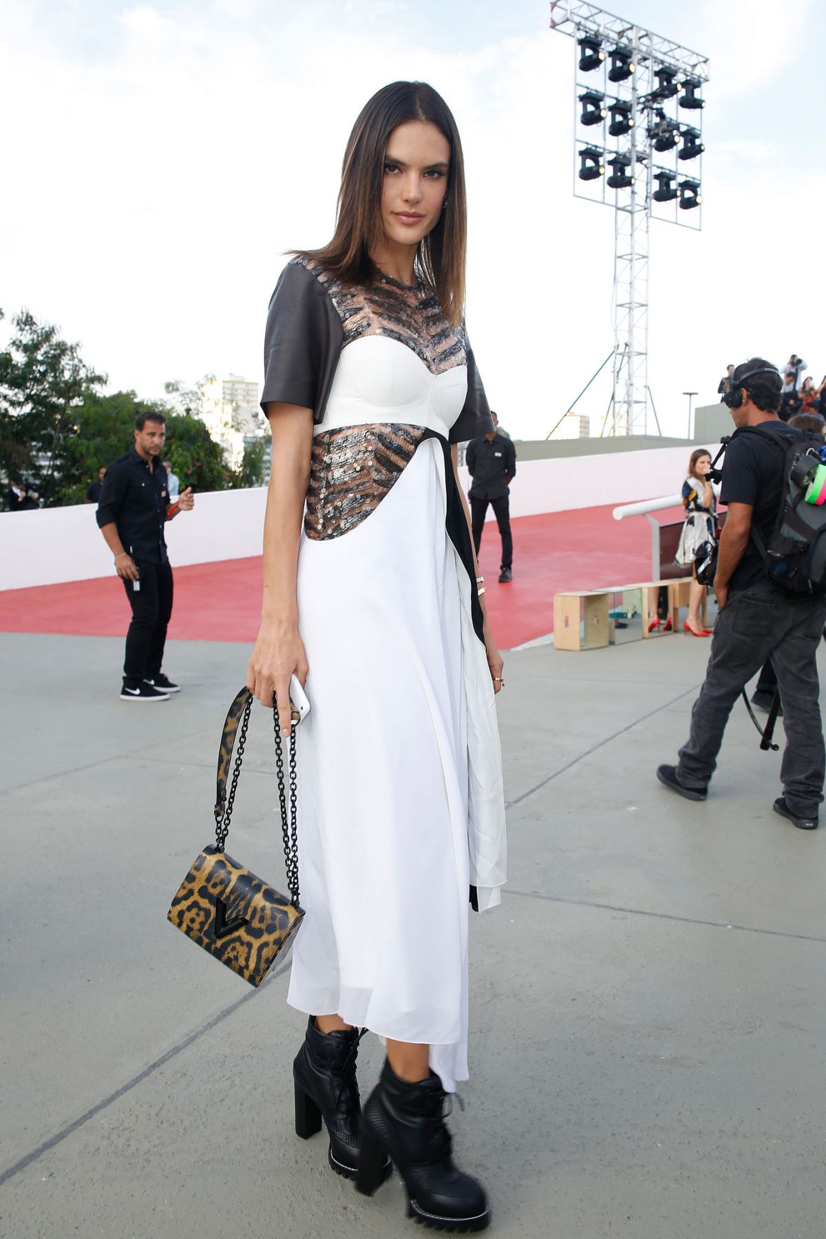 ALESSANDRA AMBROSIO at Louis Vuitton 2017 Cruise Collection in Brazil 05/28/2016
